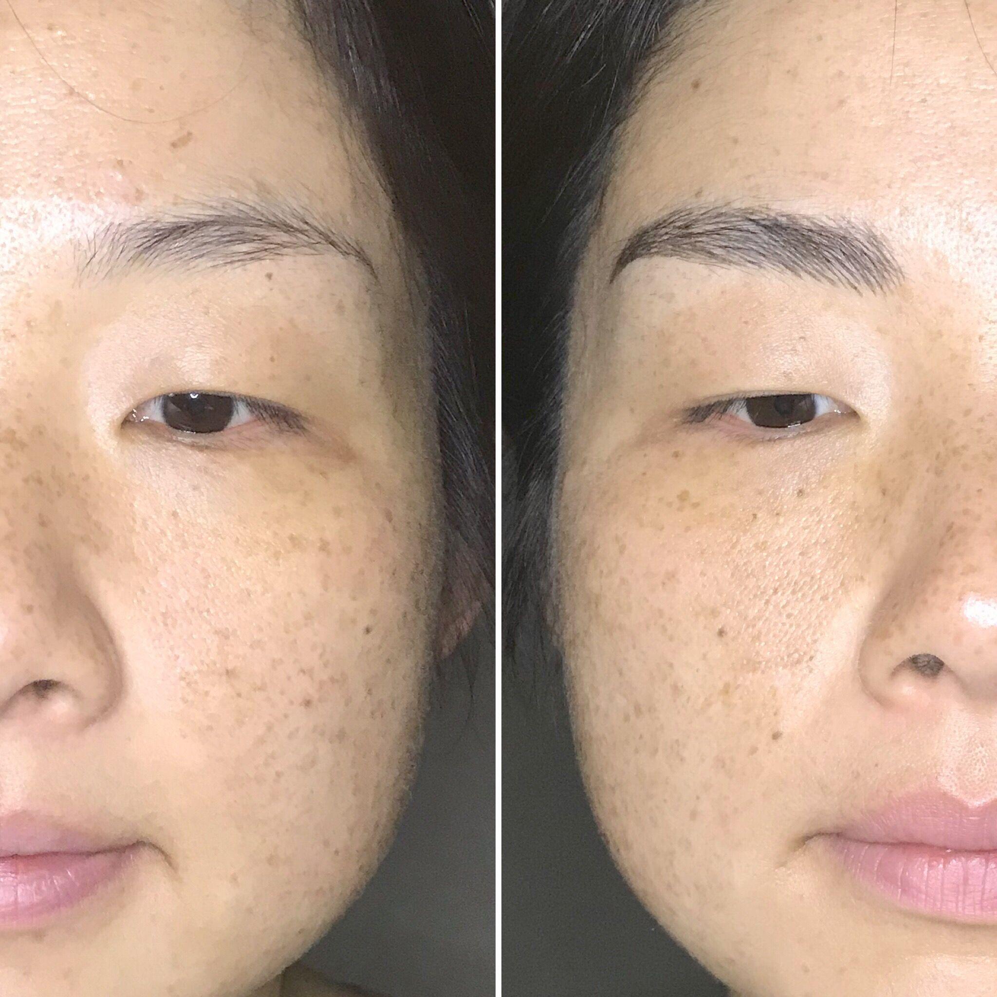 Get fuller realistic brows microblading semi