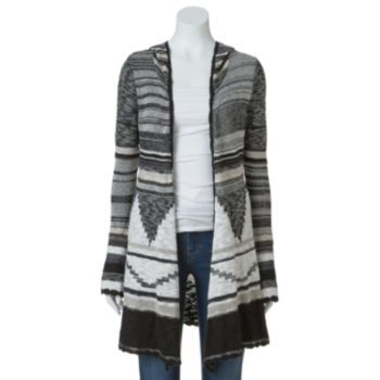 Mudd Tribal Hooded Cardigan - Juniors | Cardigans | Pinterest ...