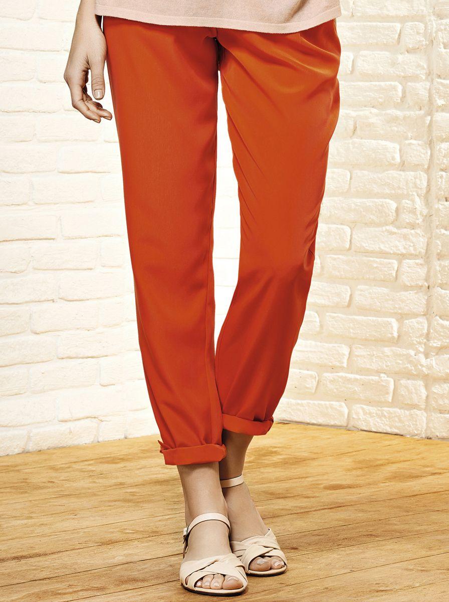 calça feminina carrot pants com bolsos | calças | feminino