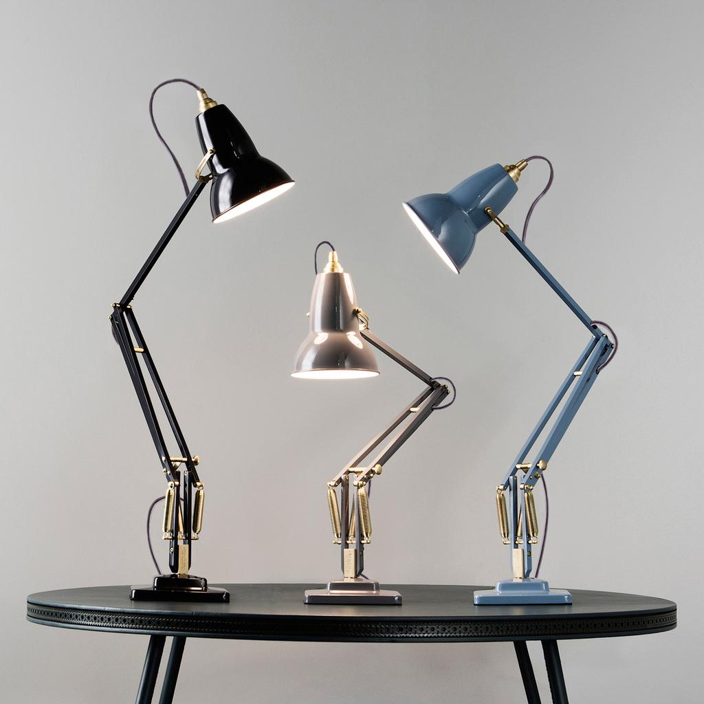Original 1227 Brass Desk Lamp In 2021 Anglepoise Lamp Brass Desk Lamp Anglepoise