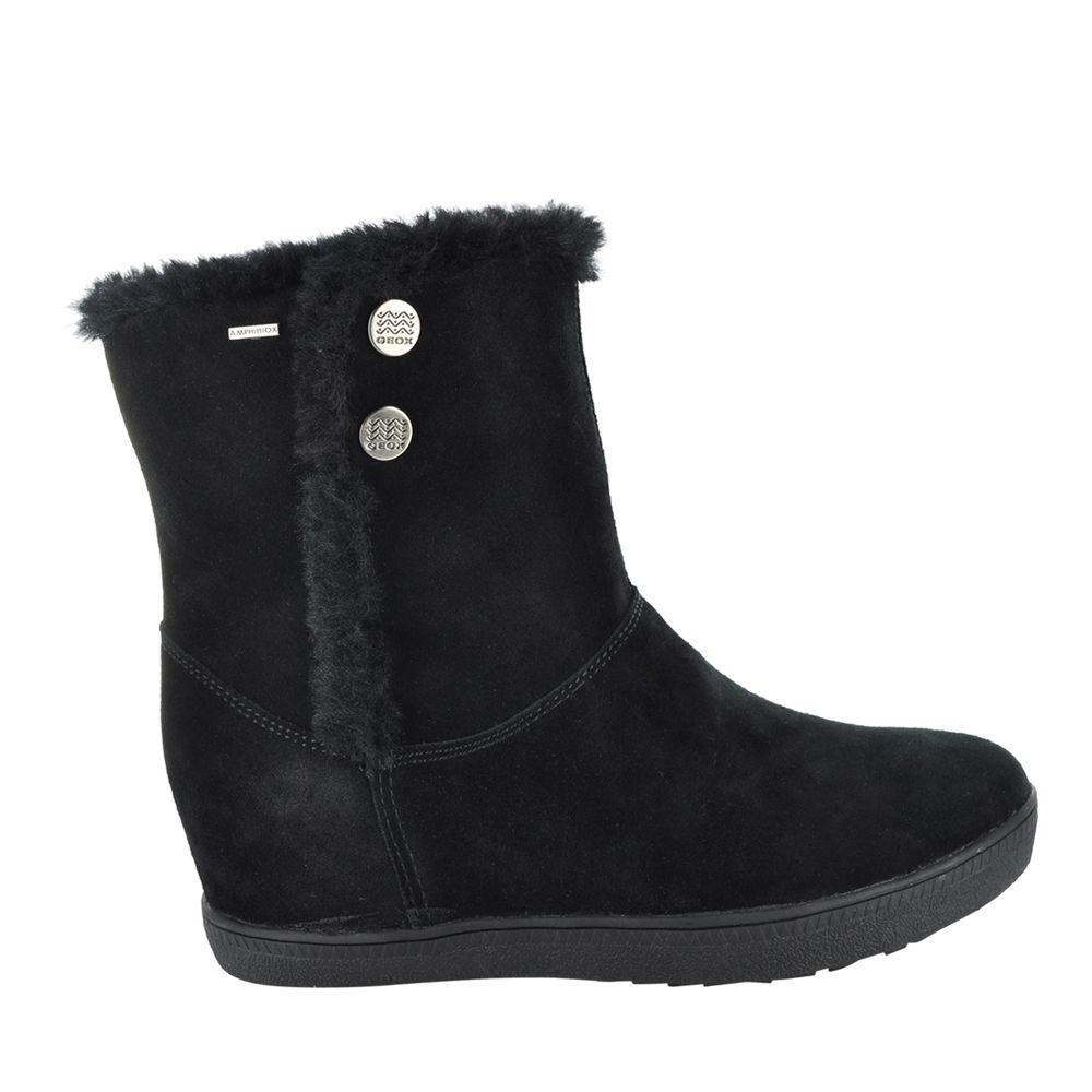 @geoxcanada wedge boots will provide you both height and warmth this winter