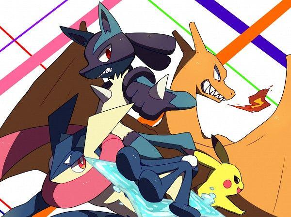 Pokemon greninja x reader