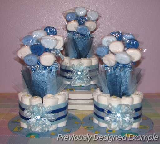Baby Shower Decorations Table Settings: Boy Baby Shower Table Decorations