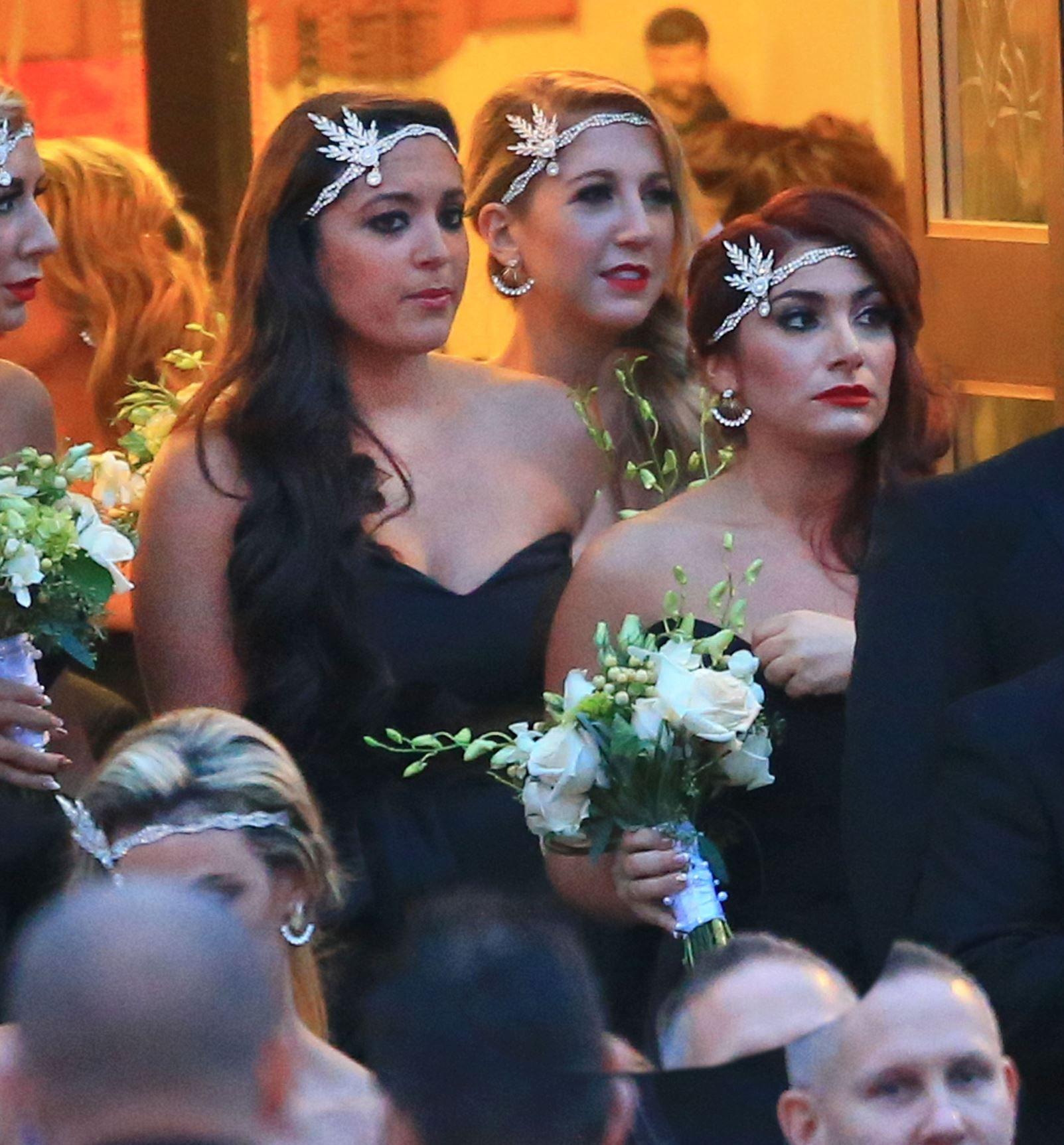 Snookis Wedding New Photos From Jersey Shore Star Nicole Polizzis Nuptials