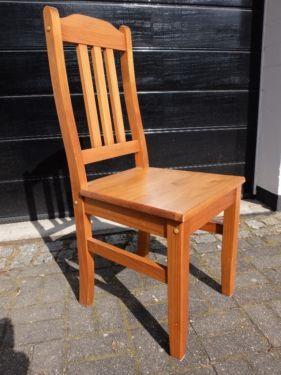 6 Stühle Kiefer Bernsteinfarben Mit Sitzkissen Z.B. Für Esszimmer In Berlin    Zehlendorf | EBay Kleinanzeigen