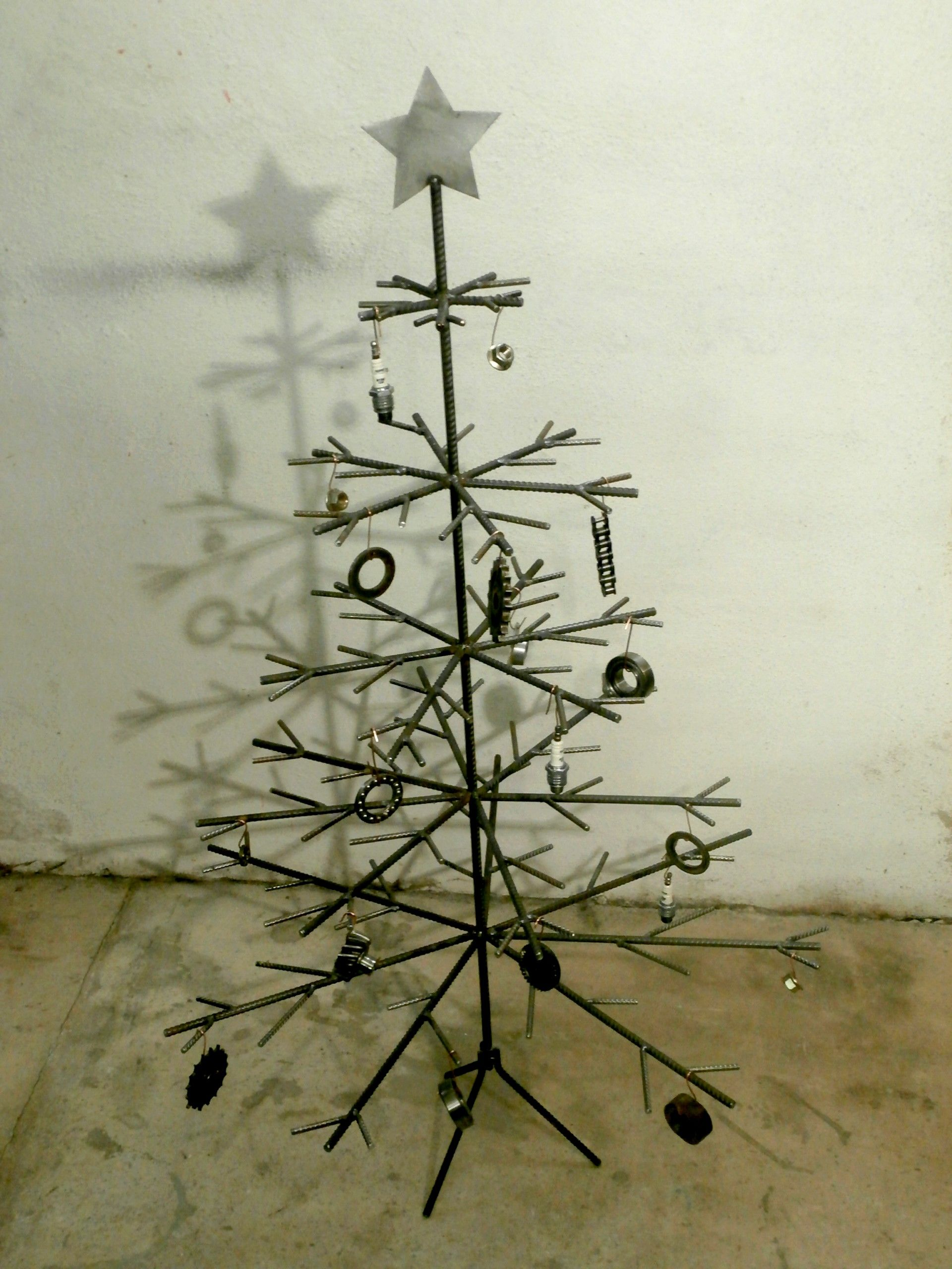 Kovový vánoční stromeček / Metal Christmass tree Metal