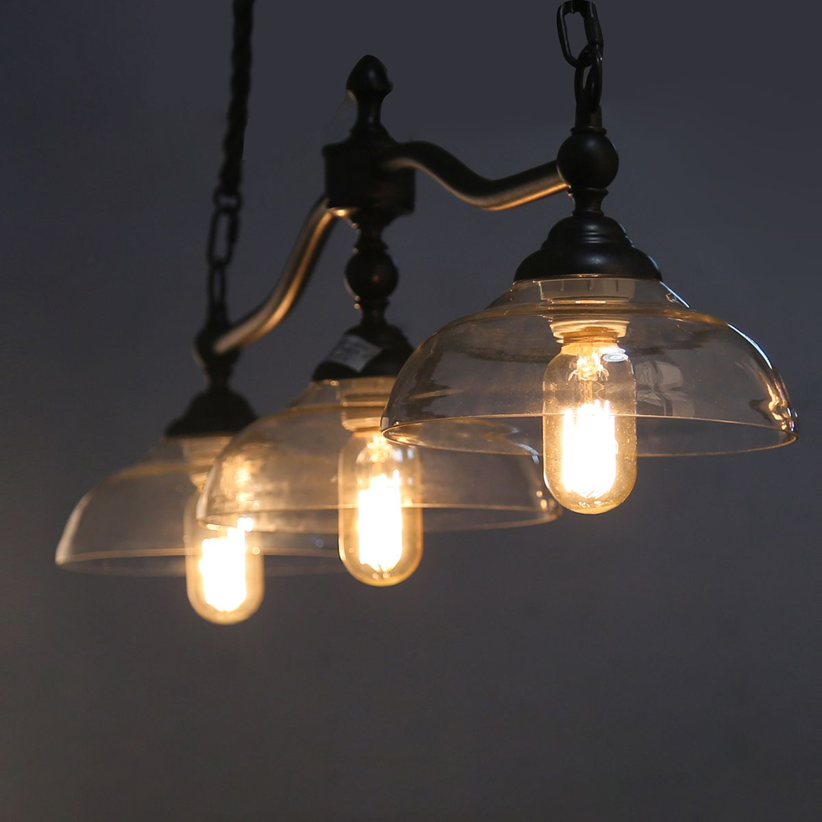 LOG BARN Light Linear Kitchen Island Lighting Billiard Lights - Linear kitchen island lighting