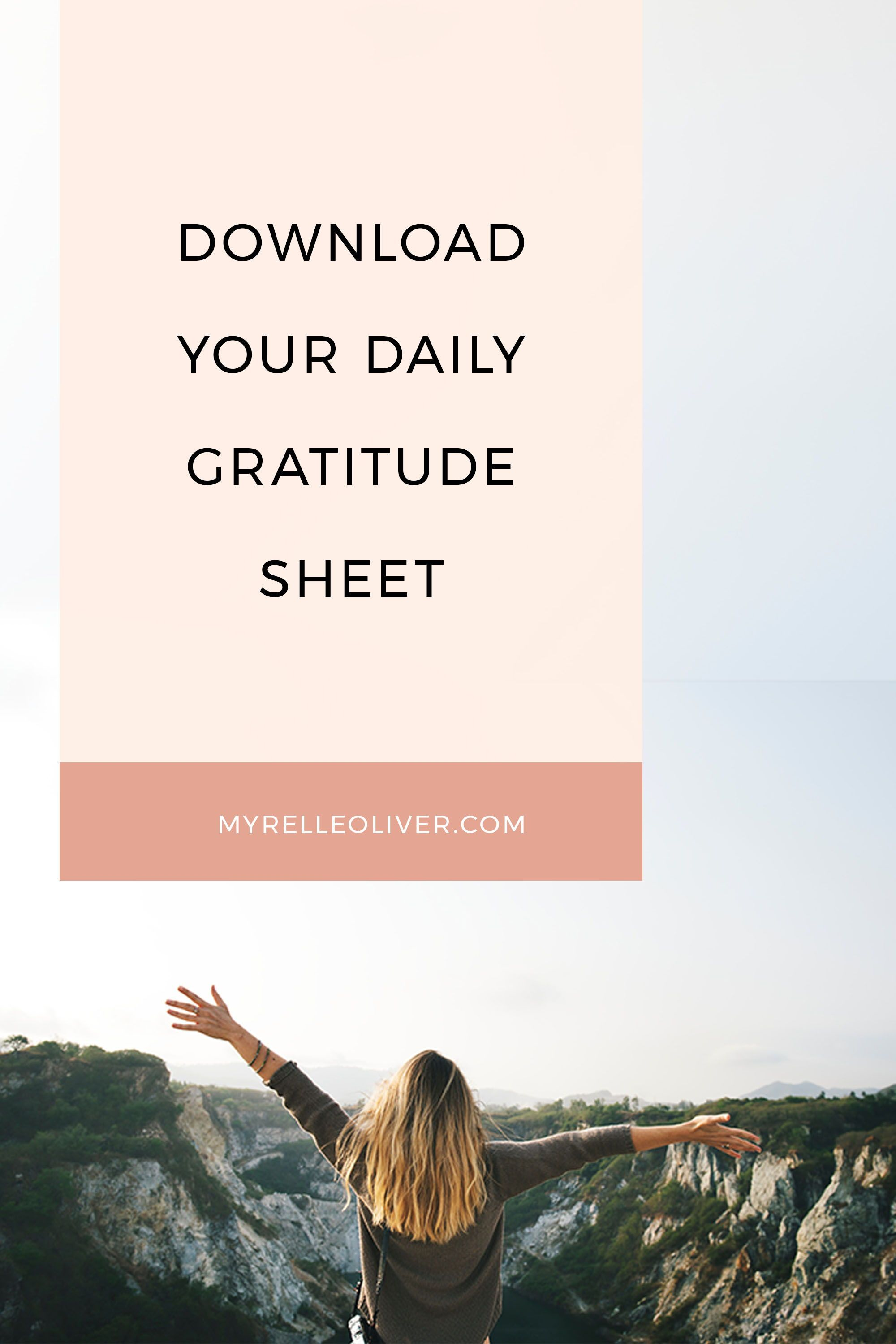 Download Your Daily Gratitude Worksheet Writing Down What