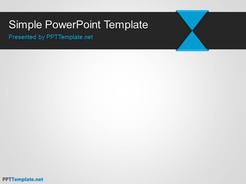 SimplePowerpointTemplate  Places To Visit