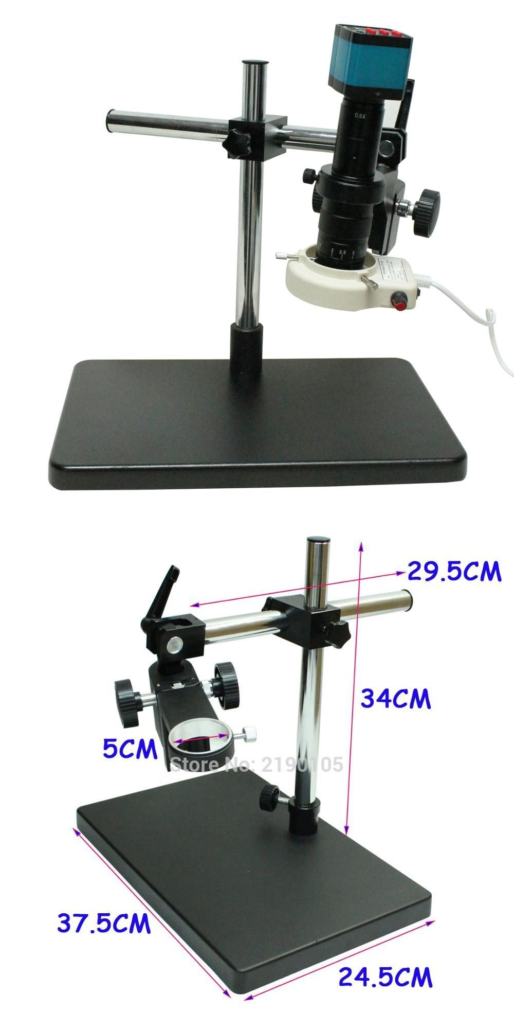 Industrie Led 14mp Hdmi Hd Usb Industrie Numerique Video Microscope Camera Set