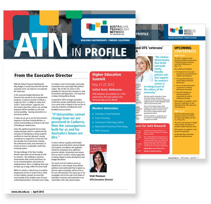Newsletter Design Sydney  Creative Company Newsletter Designers
