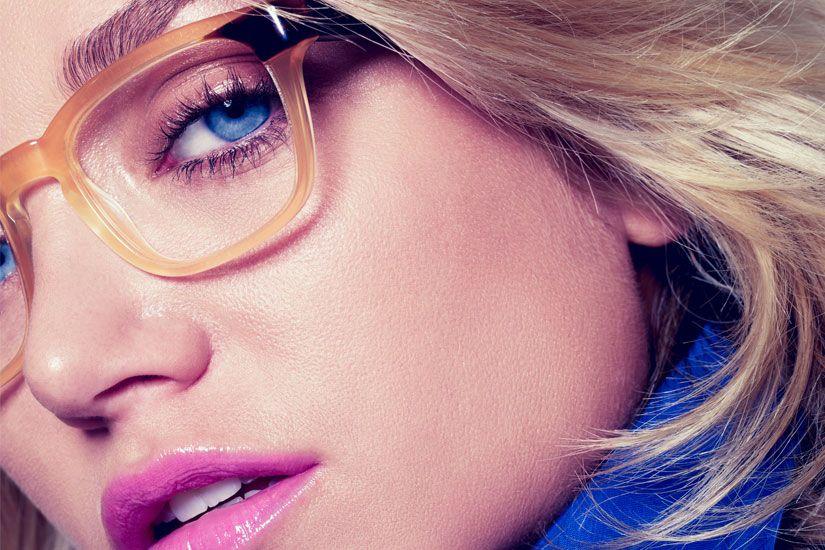 fe1902c758 Comment se maquiller lorsqu'on porte des lunettes | Place fleurs de ...