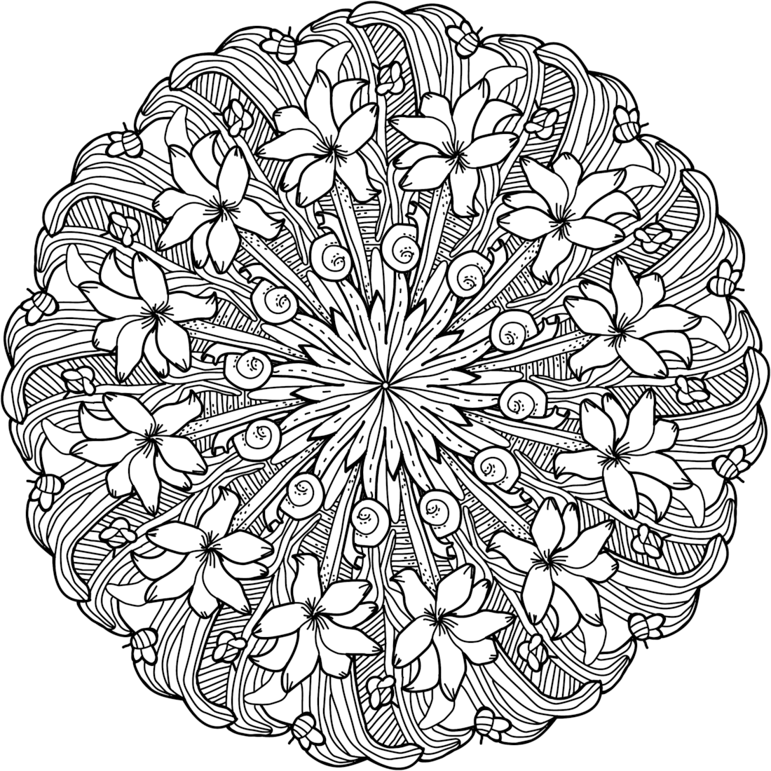 Pin de Debra Dill en Coloring Pages | Pinterest | Mandalas, Colorear ...