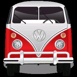 Volkswagen Bulli Bus Icon Car Iconset Searchallwreckers Volkswagen Car Icons Garage Bike