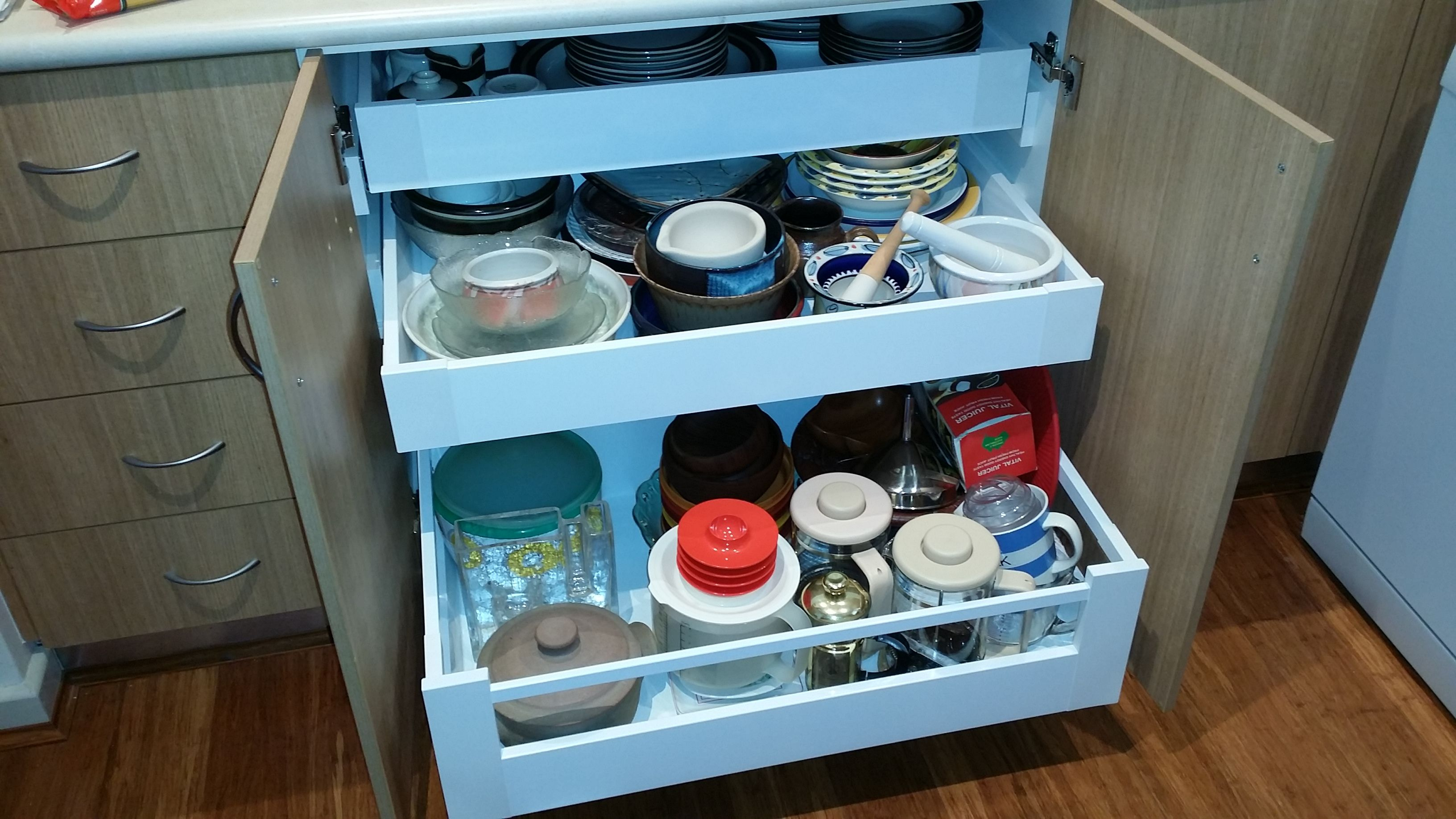 Blum Tandembox antaro inner drawers supplied and installed by Easy ...