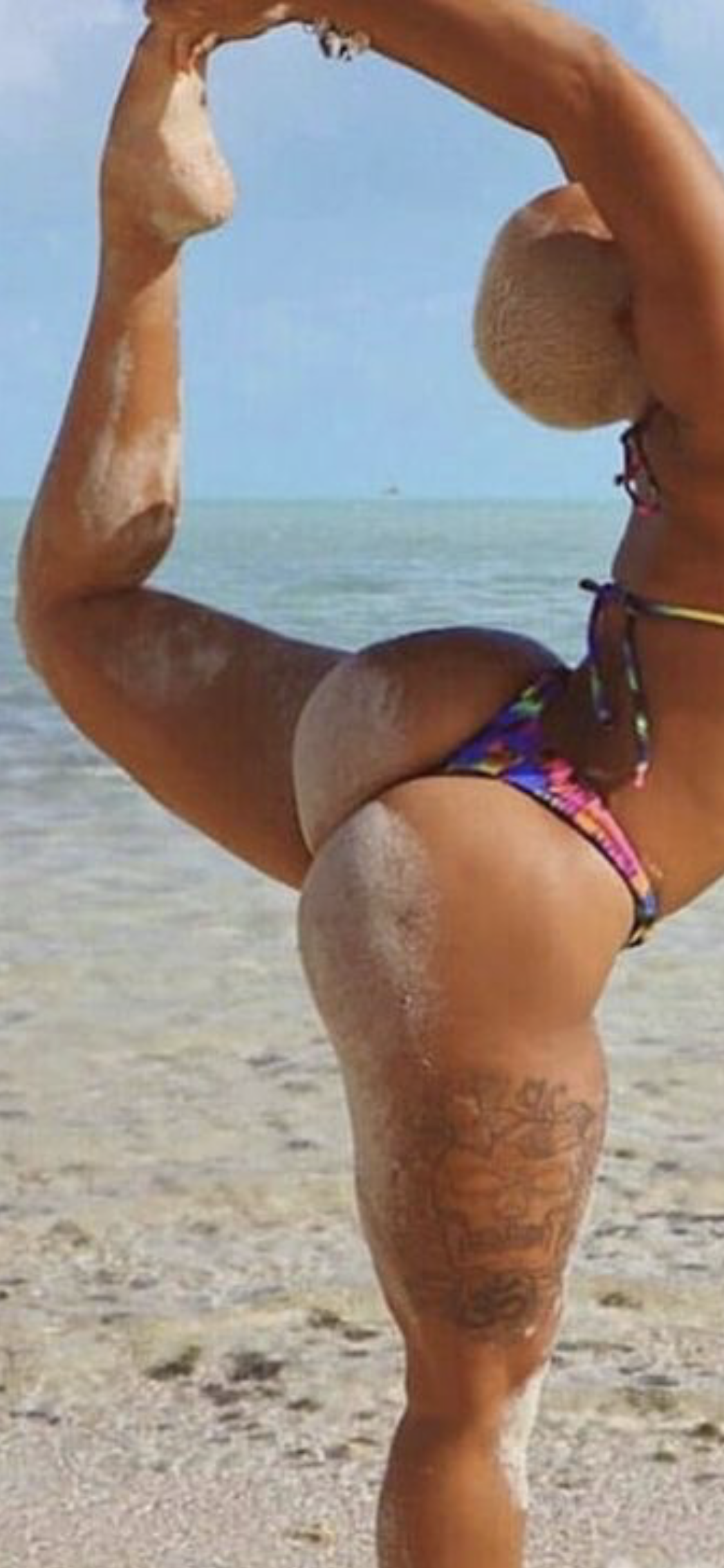 bikini ass sandy cheeks sexy