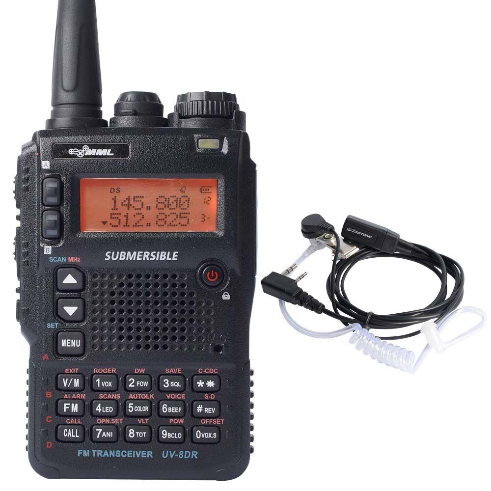 Portable Longue Portée Talkie Walkie UVDR TriBande - Talkie walkie longue portée