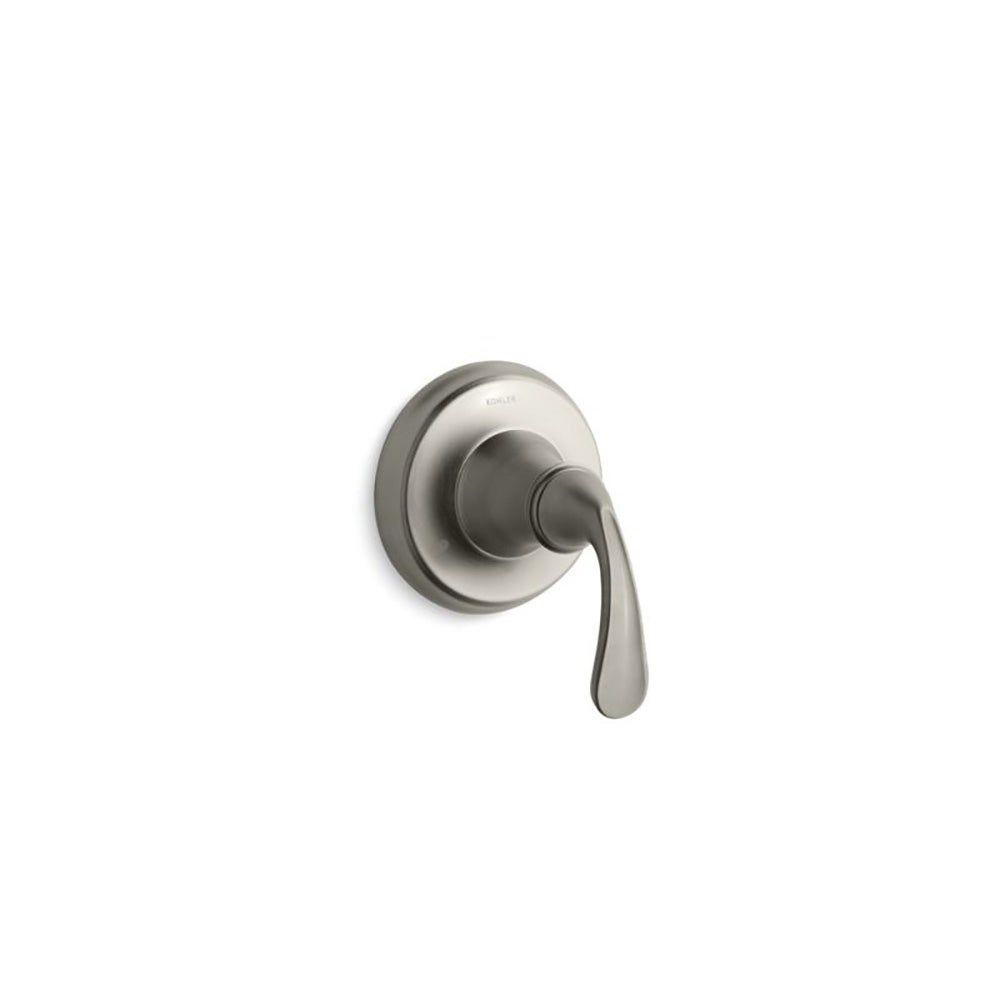 Photo of Kohler Forté Sculpted Valve Trim for Transfer Valve Requires Valve Vibrant Brushed Nickel (Nickel Finish), Gray