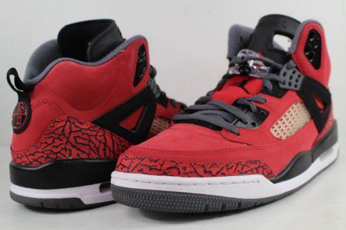 online store 2797d 07420 Nike-Air-Jordan-Spizike-Toro-Bravo-Gym-Red-Black-Grey-White-Size-11