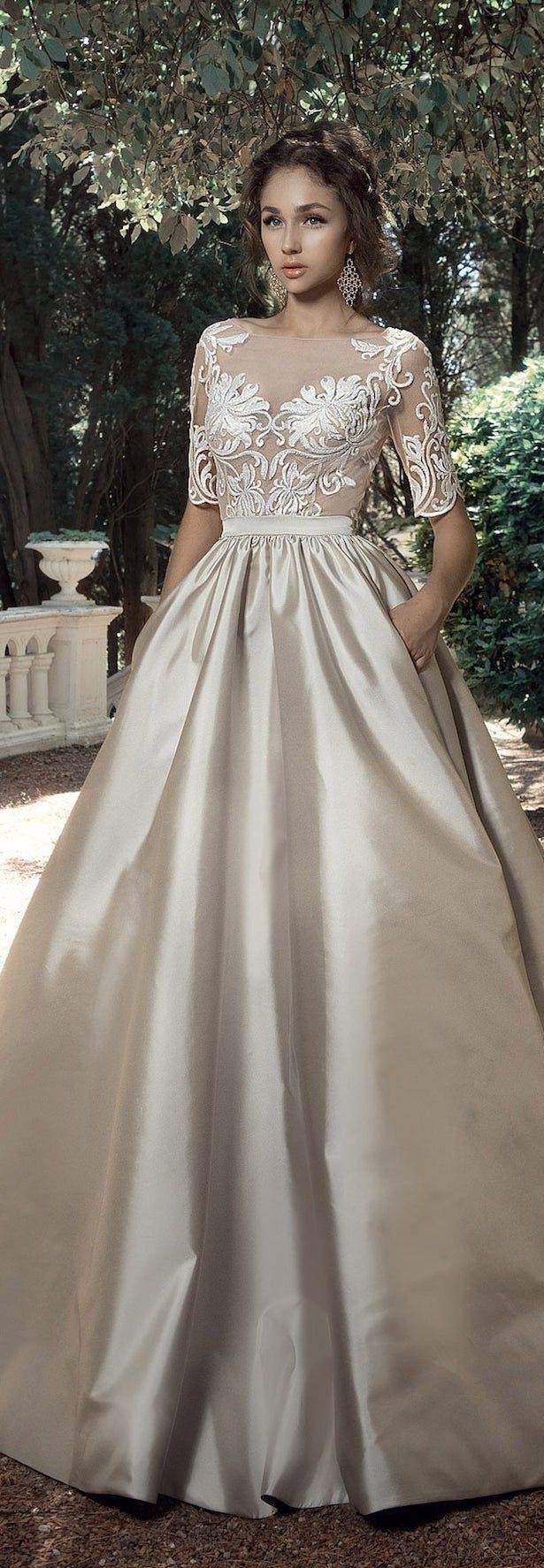 Casual wedding dresses with color  Milva  Wedding Dresses u Sunrise Collection  Itus a Dream Dress