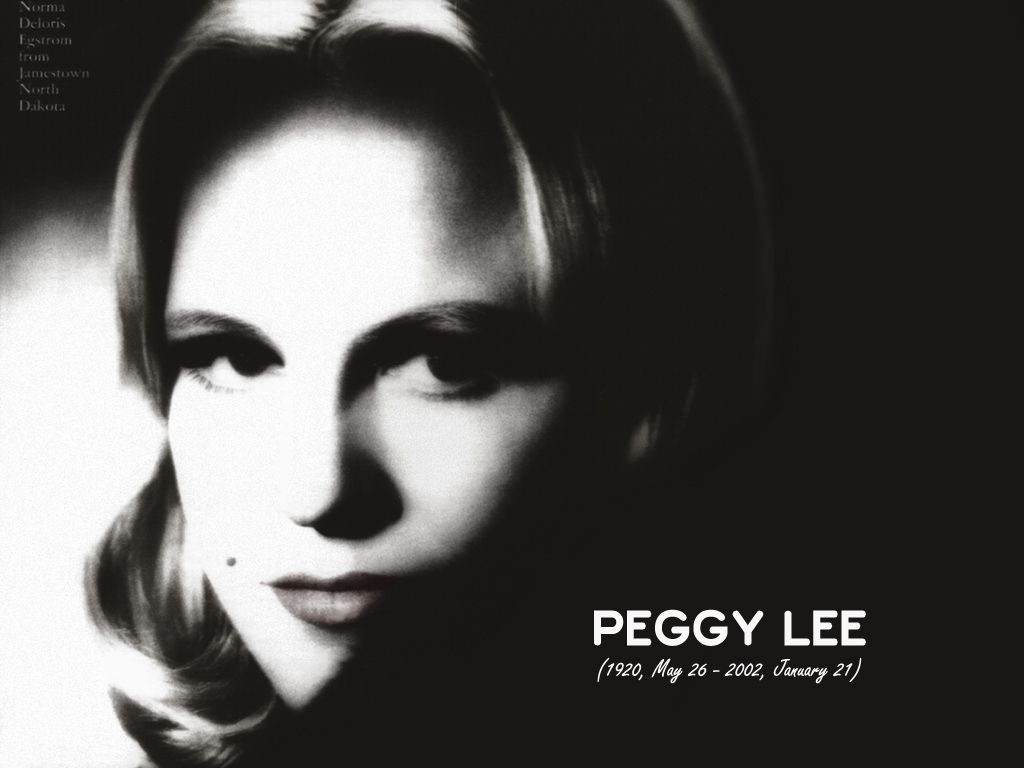Peggy Lee. | Lady sings the blues, Discover music, Popular ...