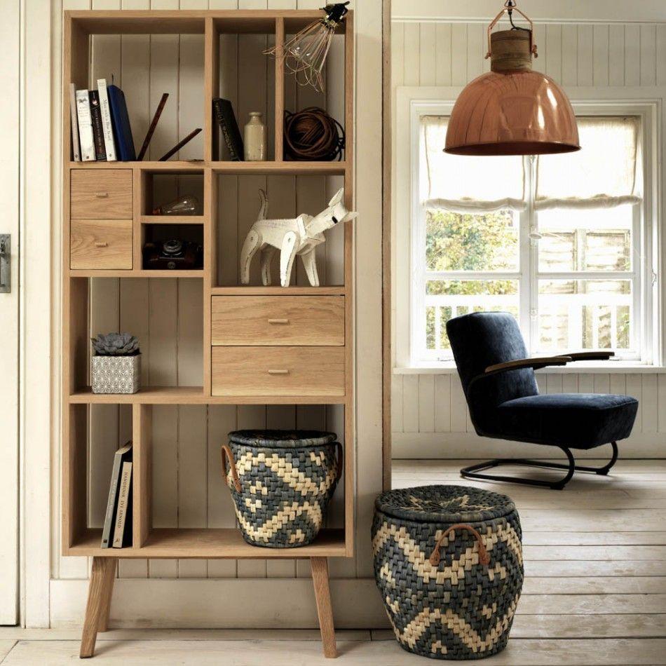 Oak Shelving Unit Sideboards Wardrobes Furniture Furniture  # Giellesse Muebles