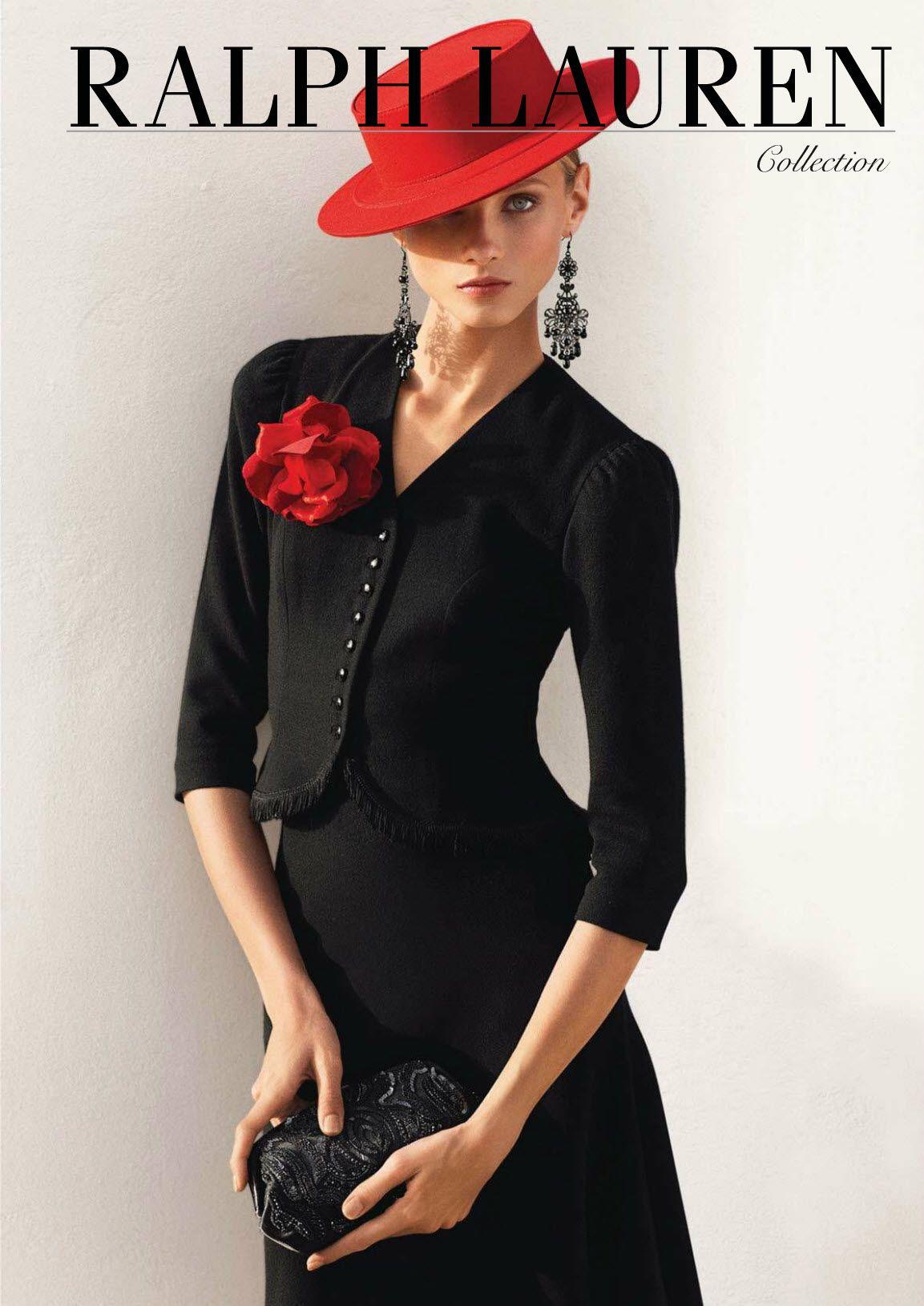 Anna Selezneva for Ralph Lauren s/s 2013 campaign