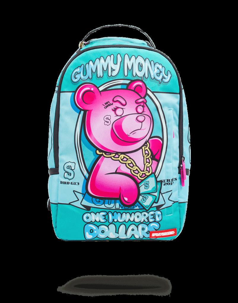 93001e5c79a Pink gummy money | Spray ground bookbags | Bags, Backpacks ...