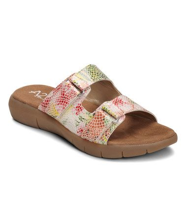 Womens Sandals Aerosoles Wip Band Pink Floral