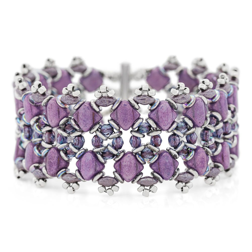 Lilac Shimmer Bracelet Fusion Beads Inspiration Gallery
