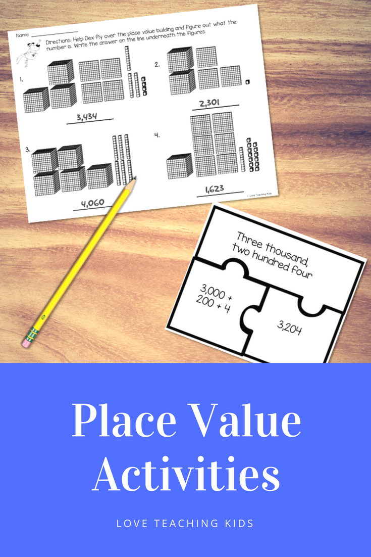 Place Value Using Blocks Numeral Form Expanded Form And Written
