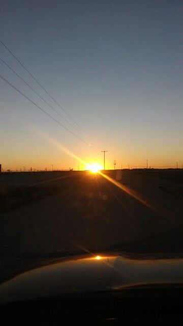 Sunset in West Texas