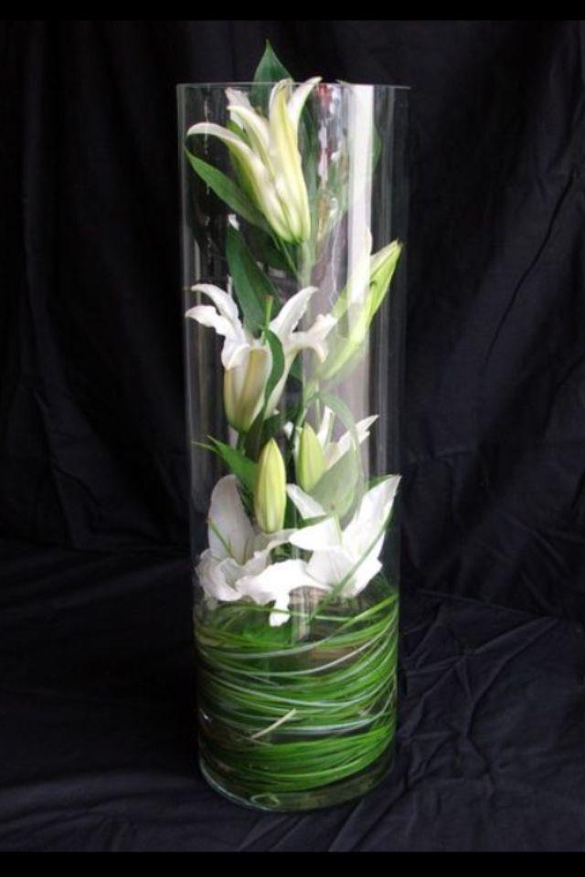 Flowers Inside Glass Vase Penny In 2018 Pinterest Flowers