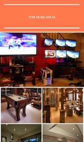 Photo of Rob Schatz's #Gaming Setup #Recreational Room #Recreational Room #Cabinets, #Ca …,  #Ca…