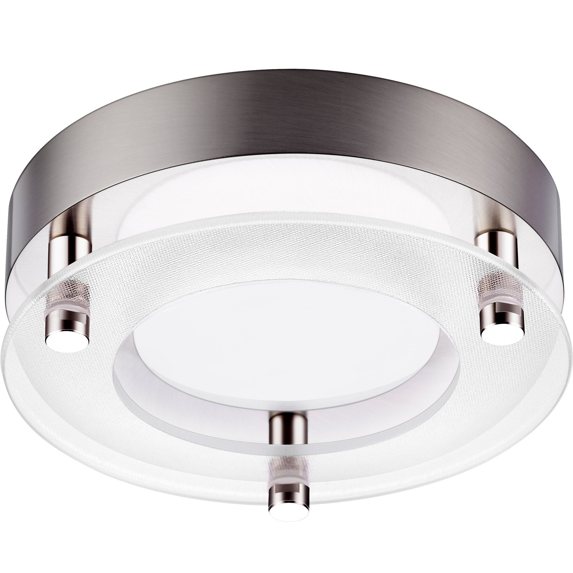 GetInLight Dimmable Surface Mount LED Ceiling Light, 5.5 Inch, 12W(60W  Equivalent