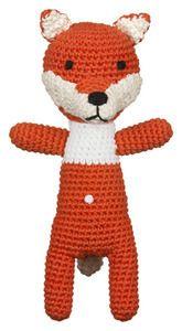 Image of Crochet Mini fox