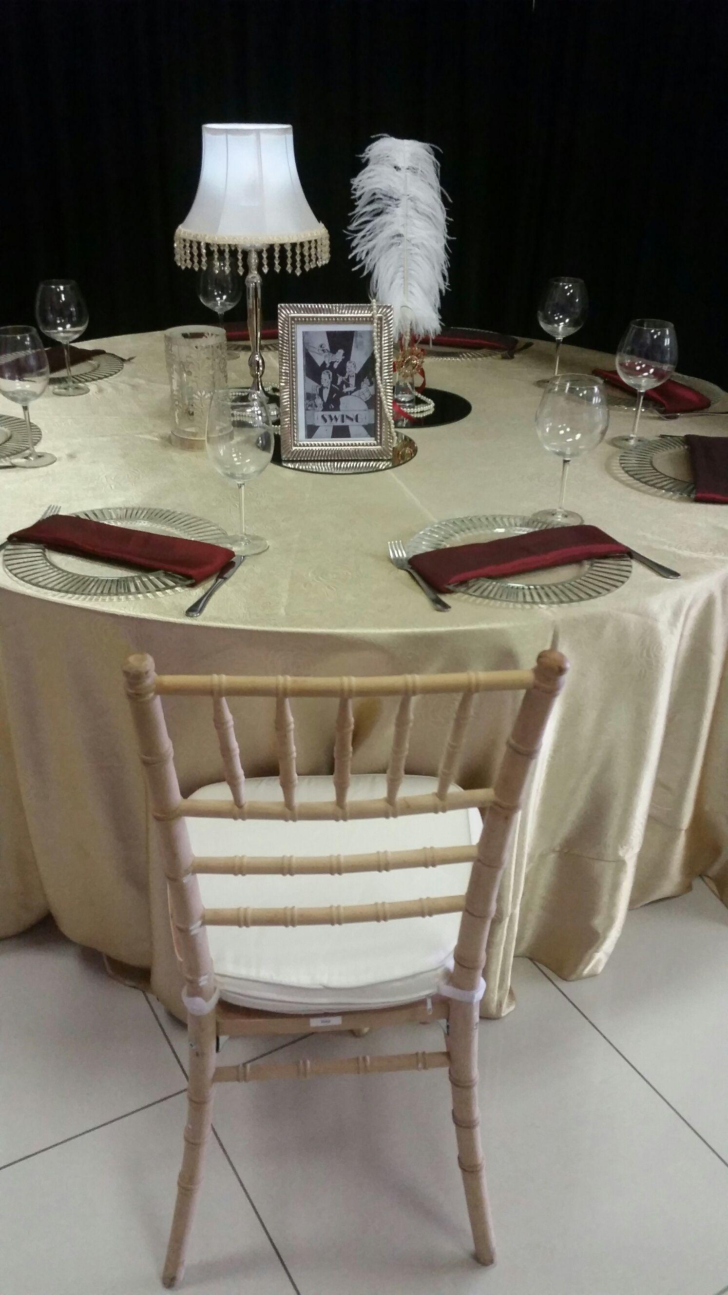 Table Decor Natural Wood Tiffany Chair Sa Wedding Decor 1940s