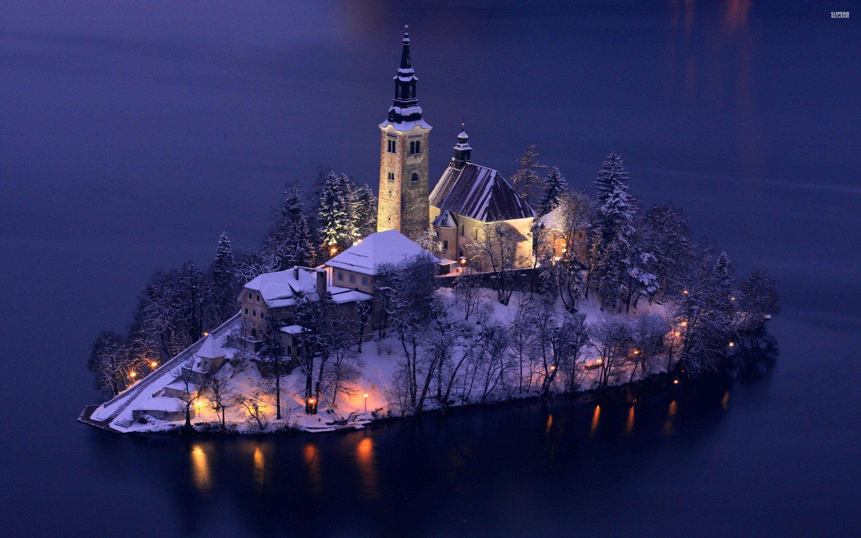 Slovenia Wallpapers Lake Bled Lake Bled Slovenia Bled Slovenia Beautiful photo church on bled island