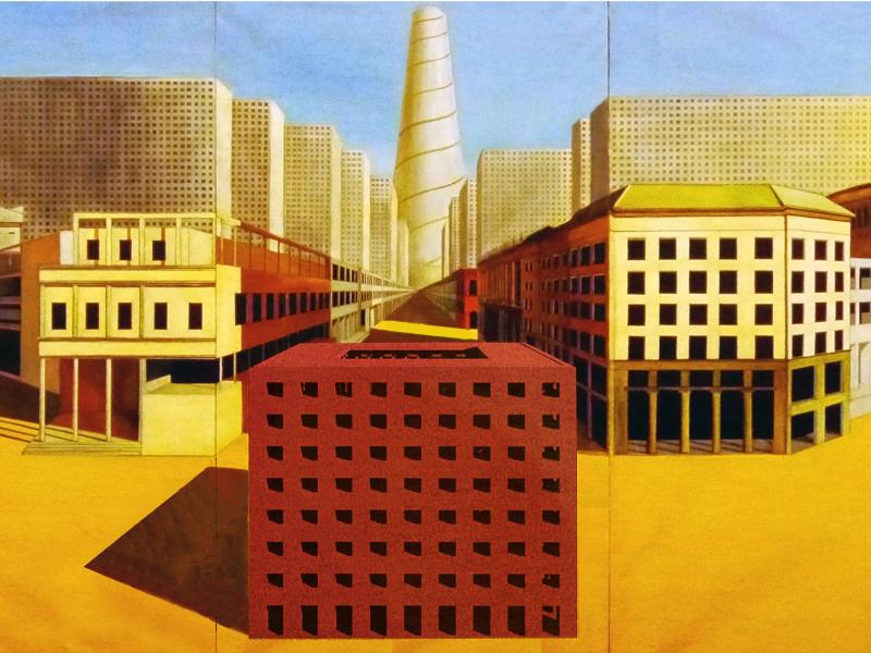 Aldorossi Cerca Con Google Aldo Rossi Post Modern Architecture Architecture Drawing