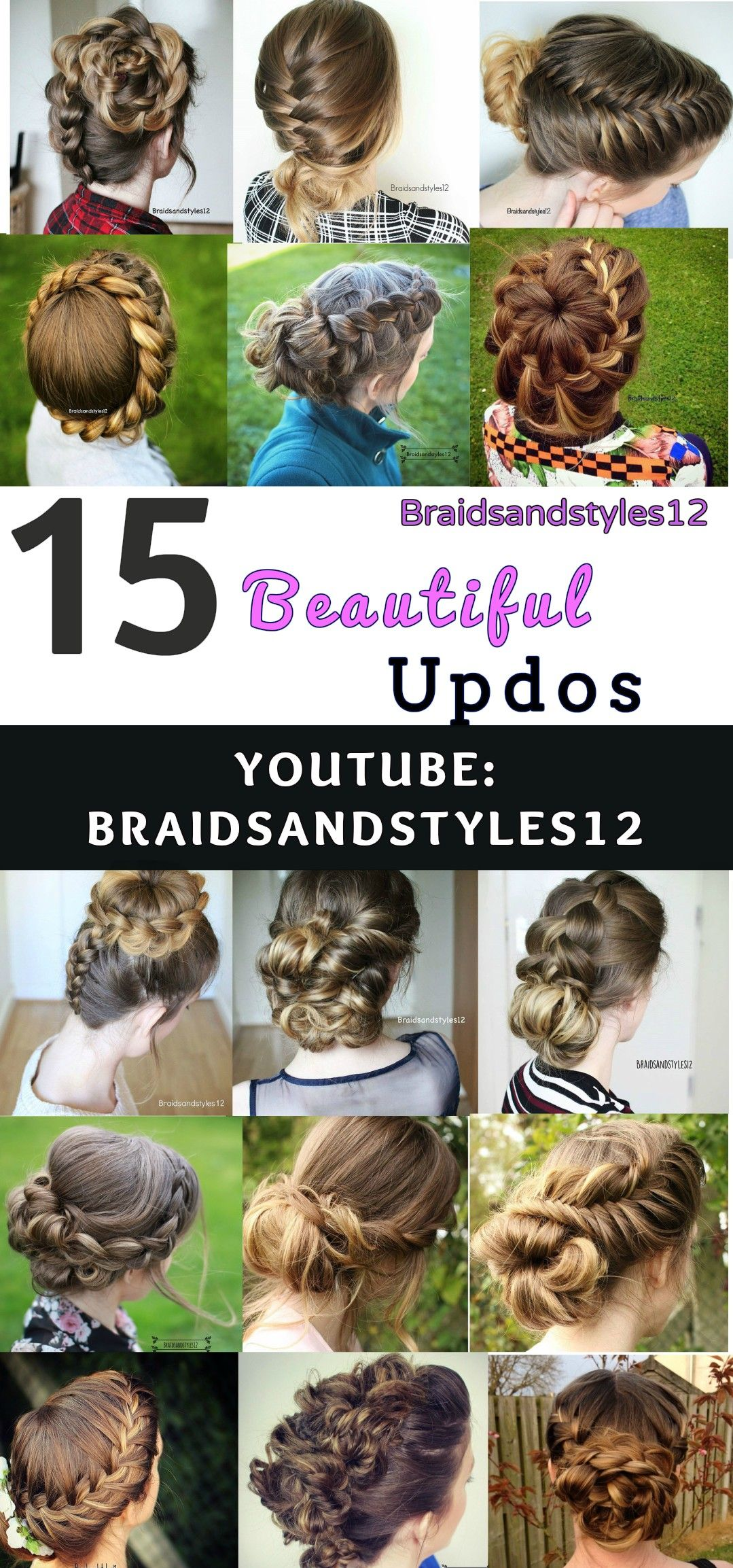 Braidsandstyles Perfect Hairstyle Updos And Hair Style - Diy updos youtube