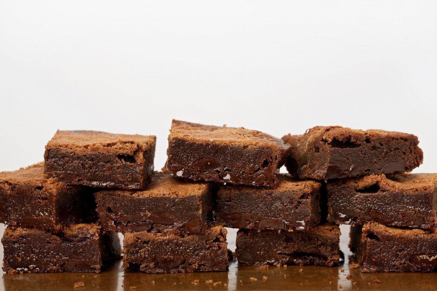 Fudgy Flourless Brownies Recipe Flourless brownies