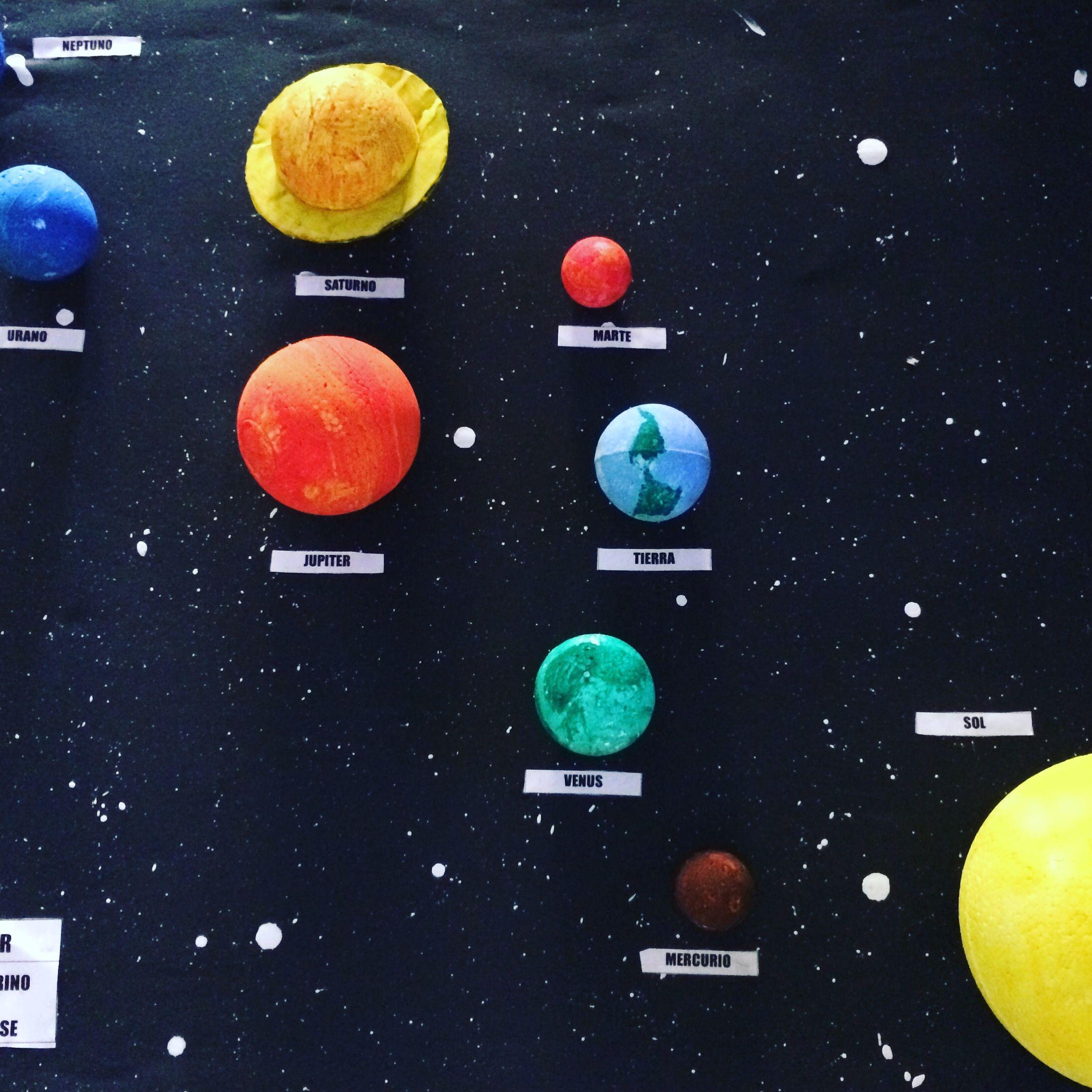 Maqueta sistema solar / Pierina Benites | Educativos