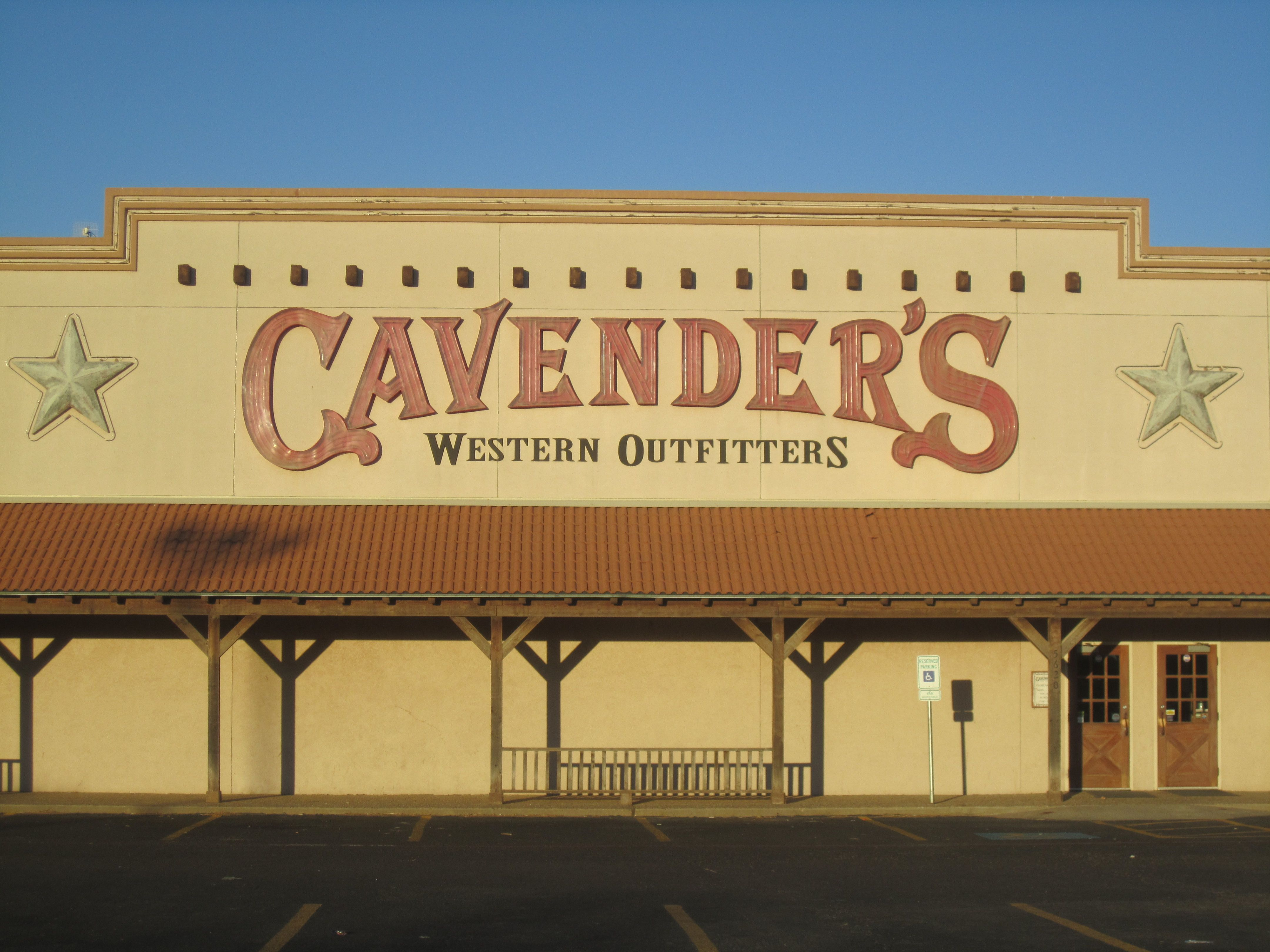 Cavender S This One Is In Lubbock Texas 3 3