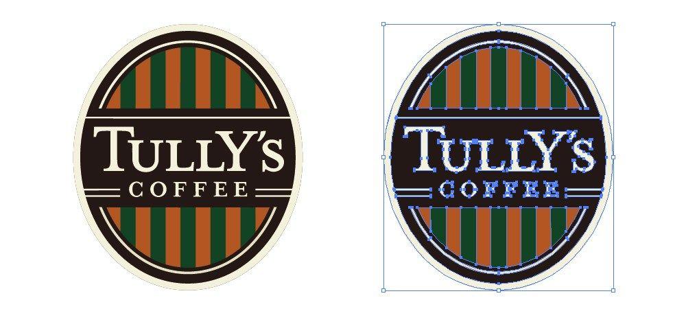 タリーズ Tully S コーヒーのロゴマーク 無料配布 イラレ イラストレーター ベクトル パスデータ保管庫 Ai Eps 商用可能ベクター素材 2020 タリーズ ロゴマーク ロゴ