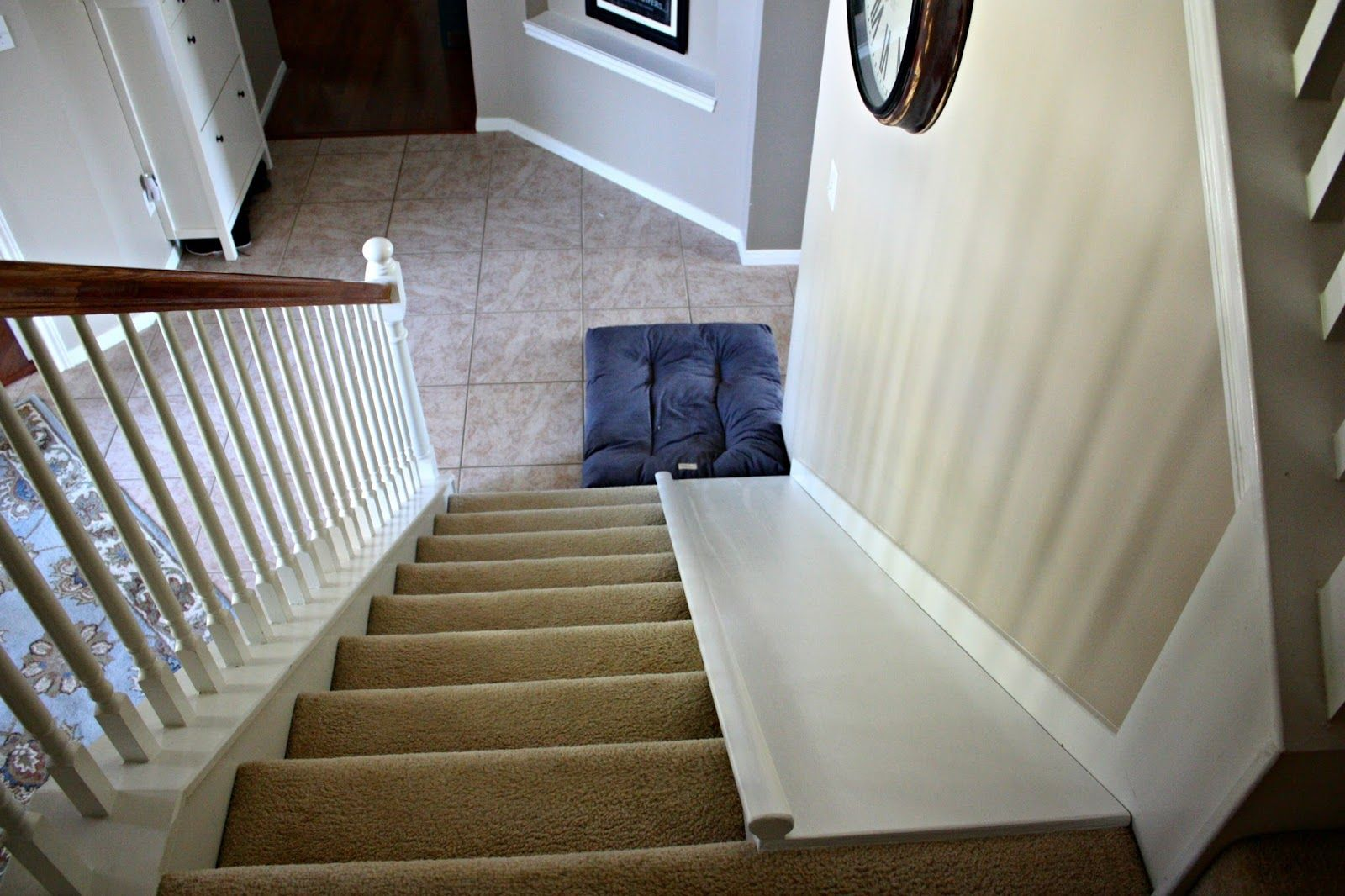 Diy Stair Slide Or How To Add A Slide To Your Stairs Diy Stairs