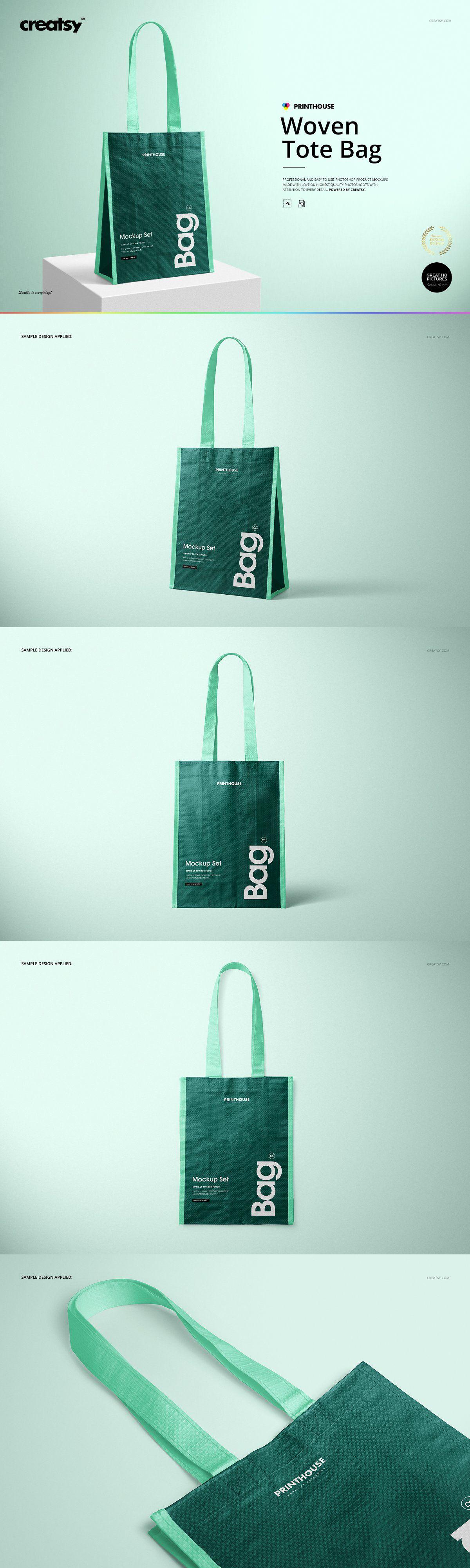 Download Woven Tote Bag Mockup Templates Mockup Psd Phone Mockups Mockup Design Beg Design Packaging Testimonials Design Woven Tote Bag Logotype Design