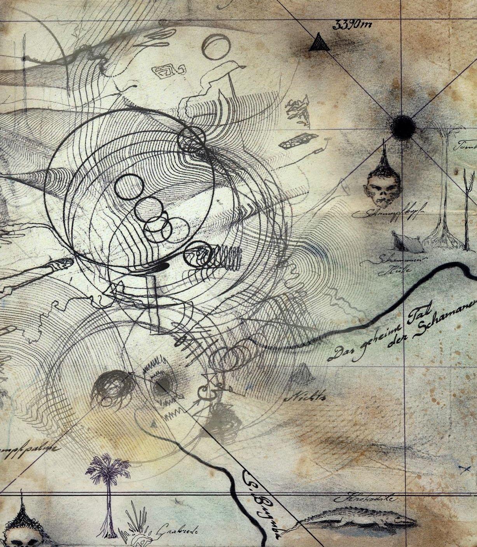 Kartographie der Vergangenheit. by F.W.Stumpfi