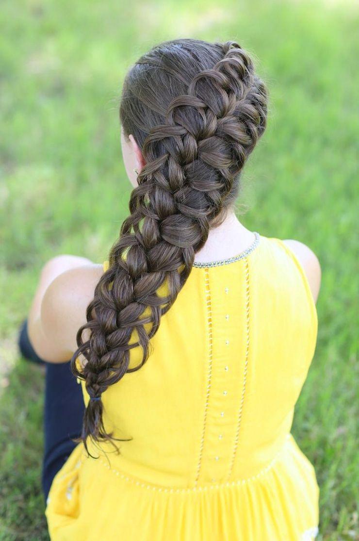 Cute girls hairstyles top haircut pinterest girl hairstyles