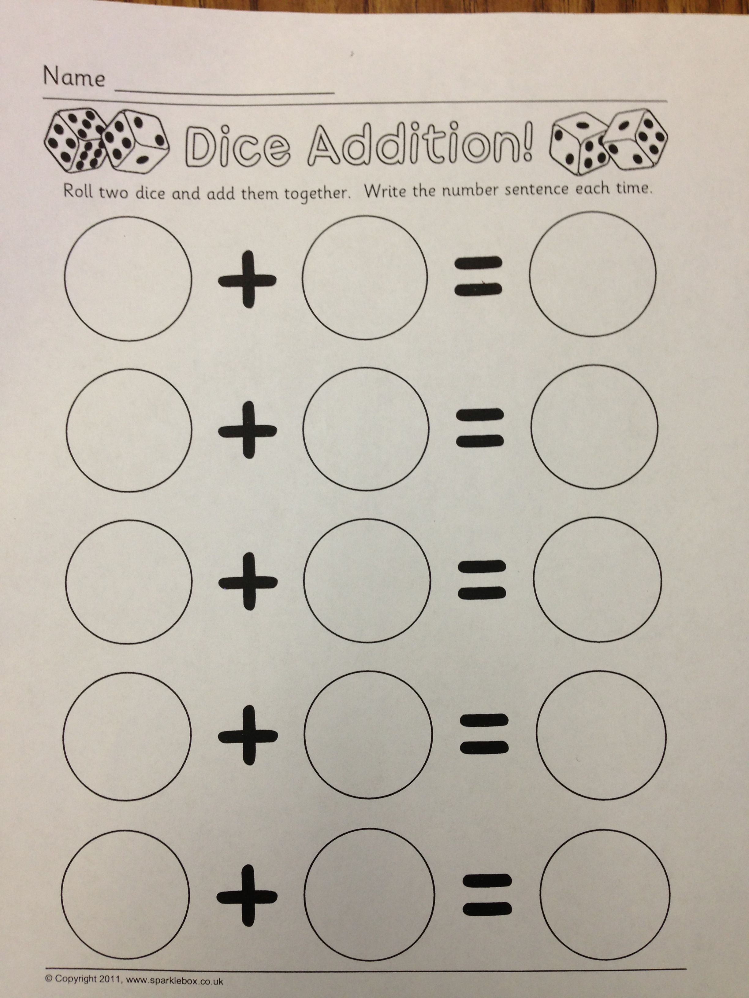 Awesome Worksheet To Practice Adding