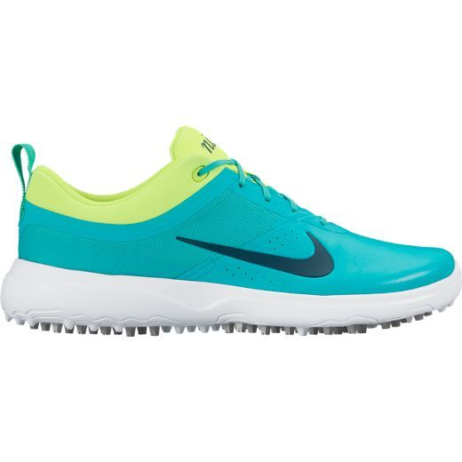 Check Out What Lorisgolfshoppe Has For Your Days On And Off The Golf Course Nike Ladies Akamai Golf Shoes Clear Jade Volt White